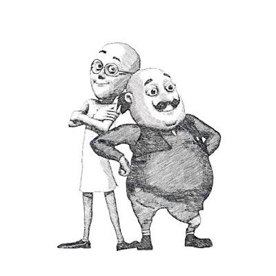8 Best Motu Patlu drawing images | Motu patlu sketch