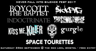 Never Fall Into Silence Records