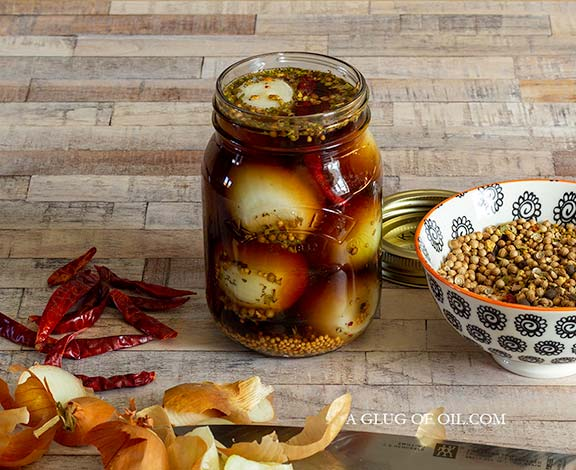 Homemade Pickled Onions