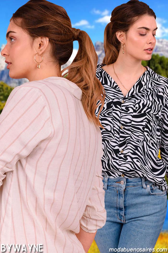 Camisas primavera verano 2020 moda mujer.