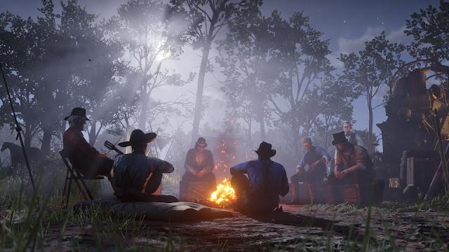 """""""Red Dead Redemption 2"""" Game phiêu lưu hành động Q4/2018"""