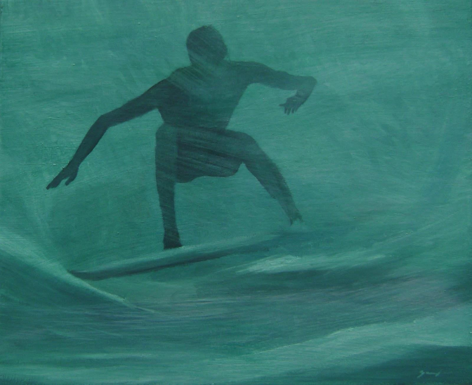 El surf art sugestivo de Eugenio Chellet