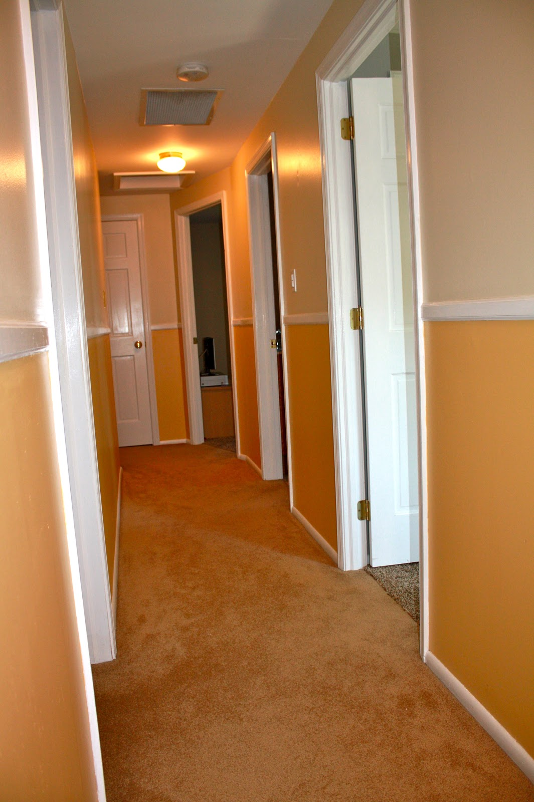 Shush In Your Home Hallway Part 1 Tips For Painting Stripes