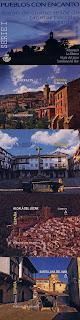 ALBARRACÍN, ALCALÁ DEL JÚCAR, LA ALBERCA Y SANTILLANA DEL MAR