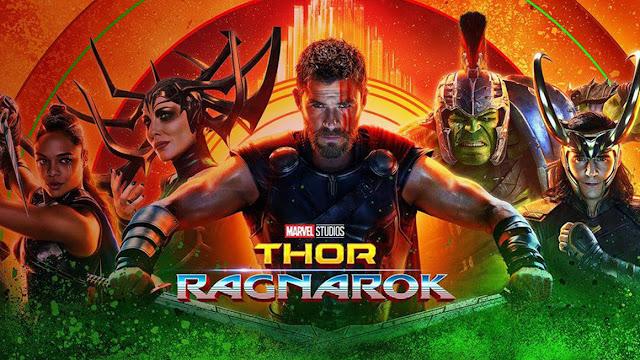 posterul filmului Thor Ragnarok, partea a 3 a