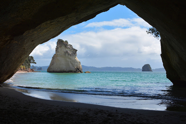Dia 14 (II): Excursió a Cathedral Cove i Hahei Beach