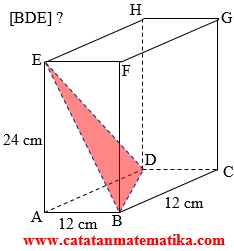 Soal SM UNY - Dimensi Tiga