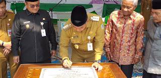 Walikota Jambi Secara Resmi Melaunching Graha Lansia Pusako Batuah.