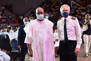 NEWS: AKPABIO SPEAKS, AS THE SALVATION ARMY CELEBRATES CENTENARY IN NIGERIA