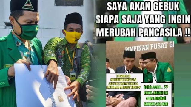 Dianggap Menghina NU, GP Ansor Surabaya Laporkan Akun Facebook Ini