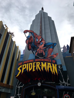 entrance of The Amazing Adventures of Spider-Man