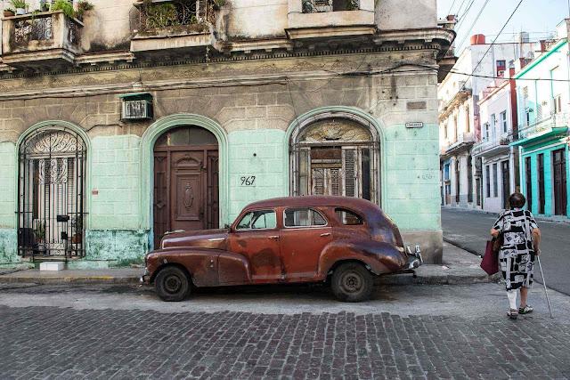 Cuba continua numa profunda miséria socialista, Havana
