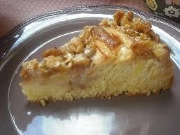 Pastel Dorado de Nueces