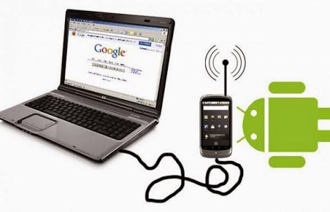 Arti Dan Cara Mengaktifkan fungsi Tethering di android