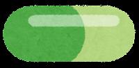 薬のイラスト(カプセル)2