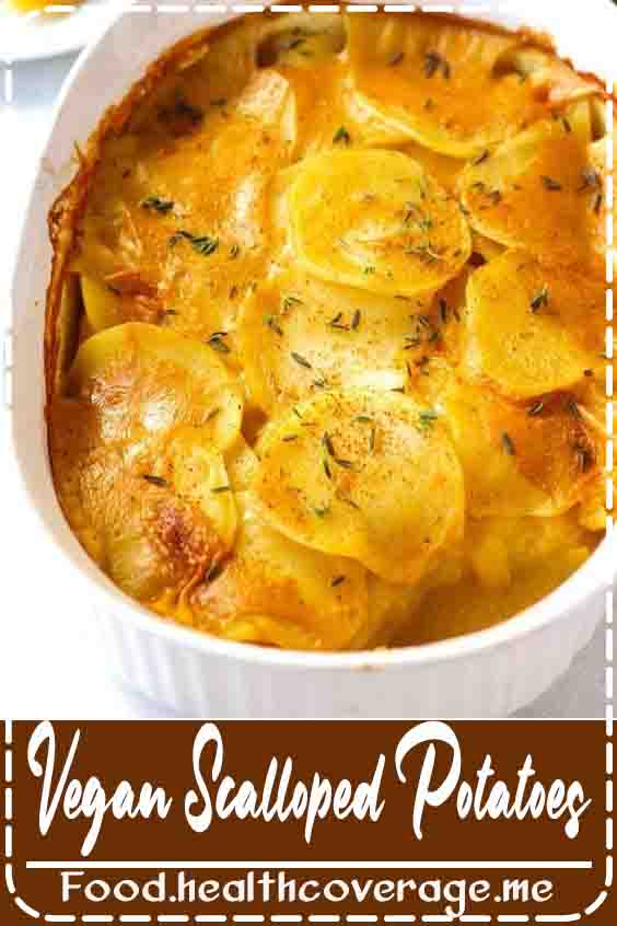 Great as a side dish - or a main meal, let's be real - these homemade vegan scalloped potatoes are totally DELICIOUS. If you have a deep love for potatoes like I do, you'll love this recipe. These scalloped potatoes are also oil-free, soy-free, and gluten-free.