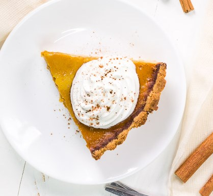 KETO LOW CARB PUMPKIN PIE RECIPE #diet #healthydessert