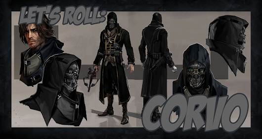 Let's Roll: Corvo Attano from Dishonored for Pathfinder RPG