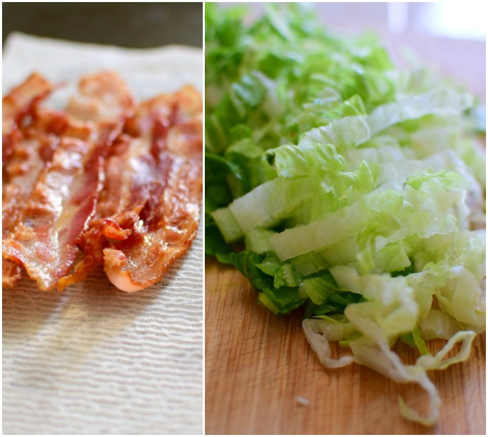 Esa ensalada se prepara con coliflor, bacon o tocineta, lechuga redonda o romana, queso parmesano, mayonesa y azúcar, el resultado es una preparación muy refrescante.