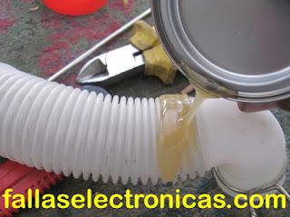 como solucionar perdida de agua en una lavadora