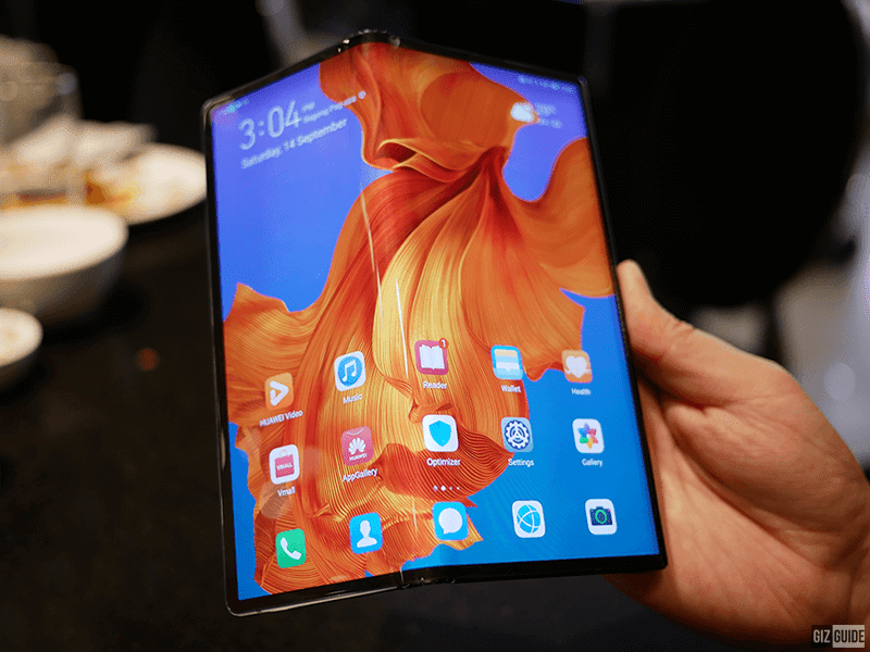First look: Huawei Mate X V2 foldable phone