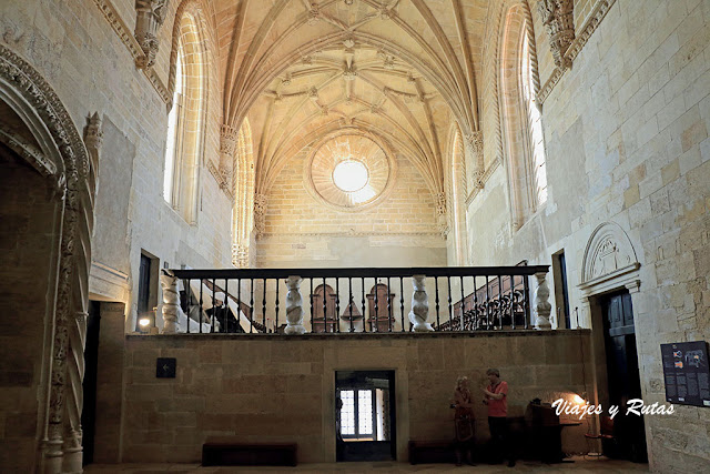 Coro de la iglesia del Convento de Tomar