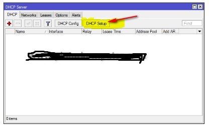 Setting DHCP-Server On mikrotik
