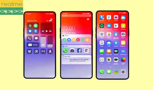 Tema iOS 14 Global Untuk Oppo (ColorOs7) dan Realme Tembus Akar