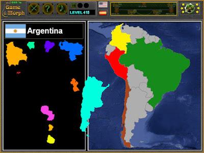 Пъзлен на Южна Америка