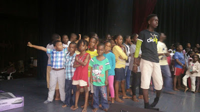 Photos: National Troupe to stage 'The Dented Anthill' for Creative Station