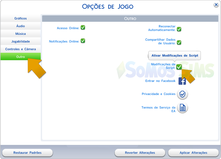 instalar mods the sims 4