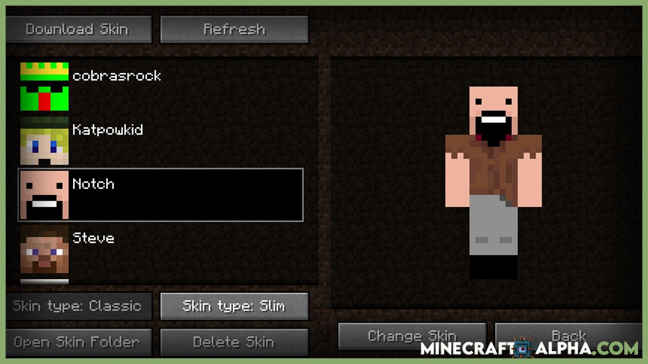 Minecraft Skin Swapper Mod For 1.17.1/1.16.5 (Quickly Change Skin)