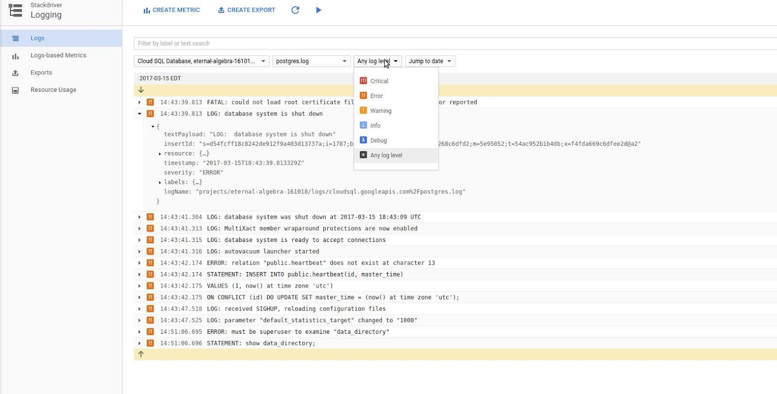 Tweaking PostgreSQL logs for pgBadger | Penning Pence