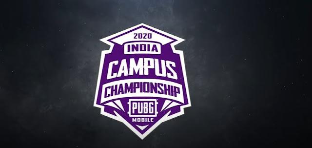 Pubg Mobile Campus Championship 2020 India