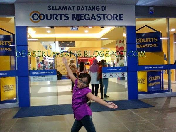 Wisata Belanja di Court Megastore Harapan Indah Bekasi