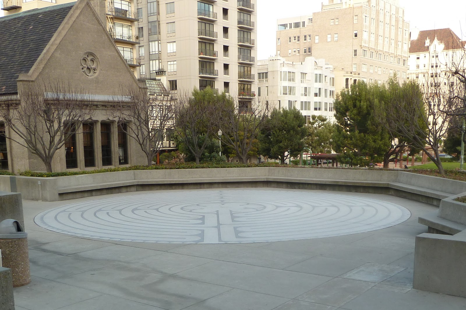 My SF Past: Grace Cathedral