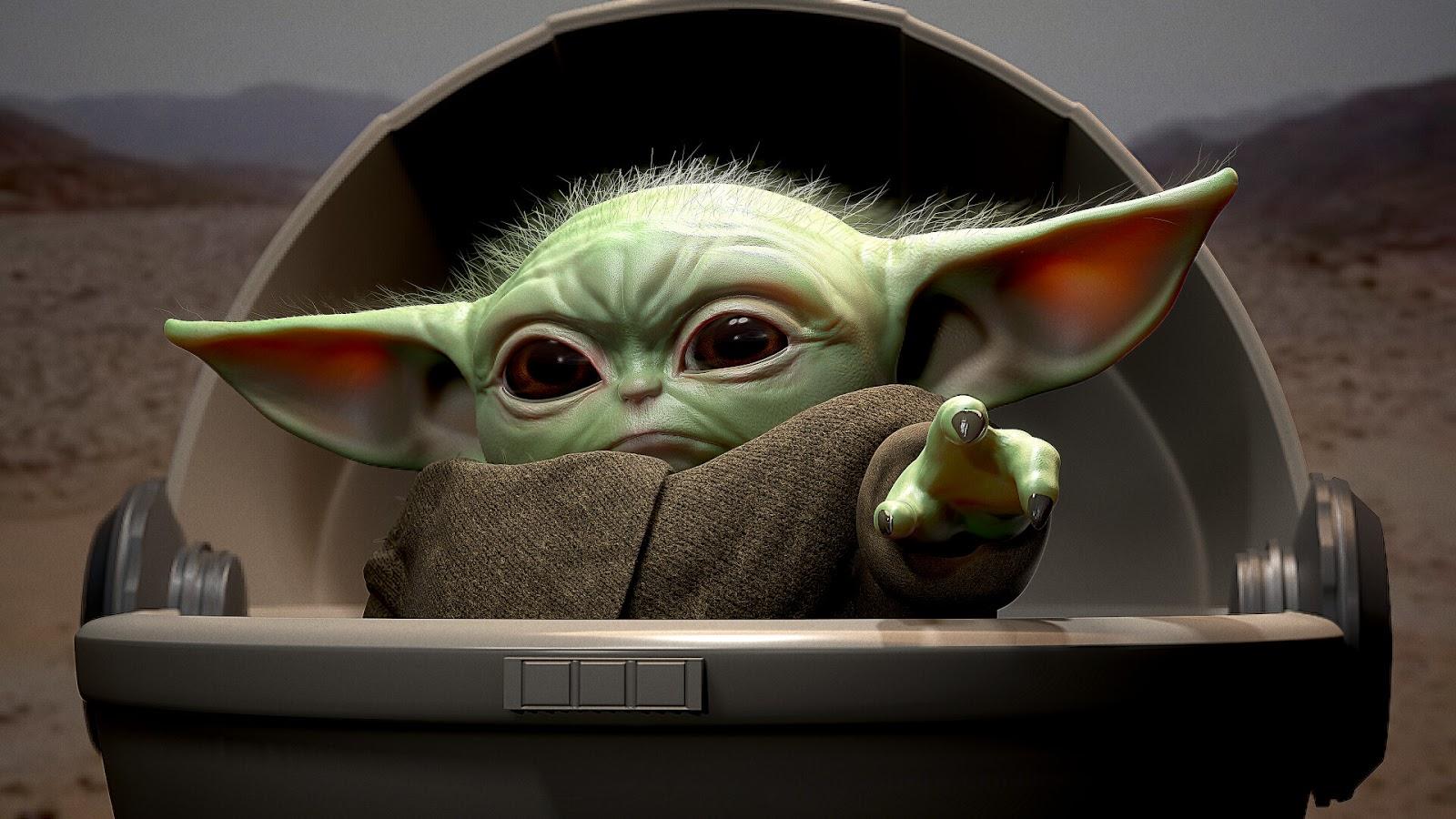 Desktop Wallpaper Baby Yoda Heroscreen Cool Wallpapers