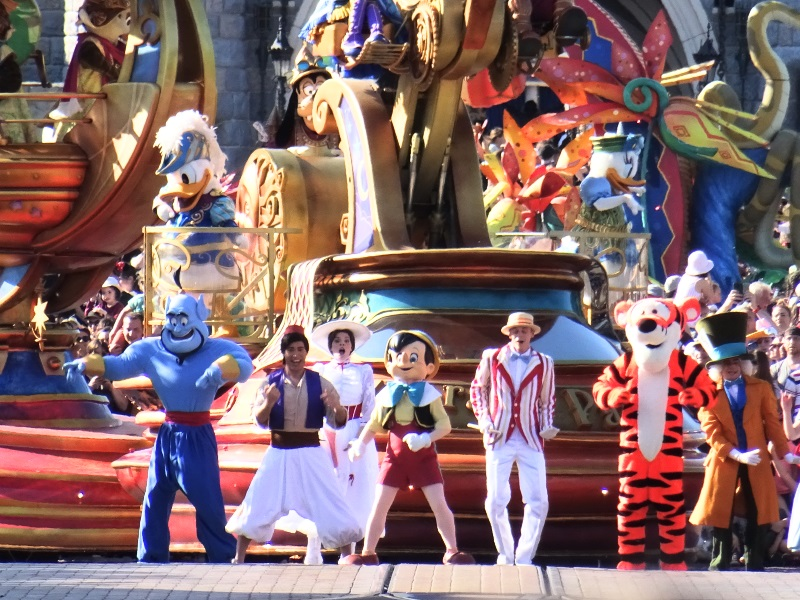 Parade à Disneyland Paris