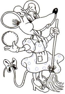 Infantil Columbrianos: La Ratita Presumida