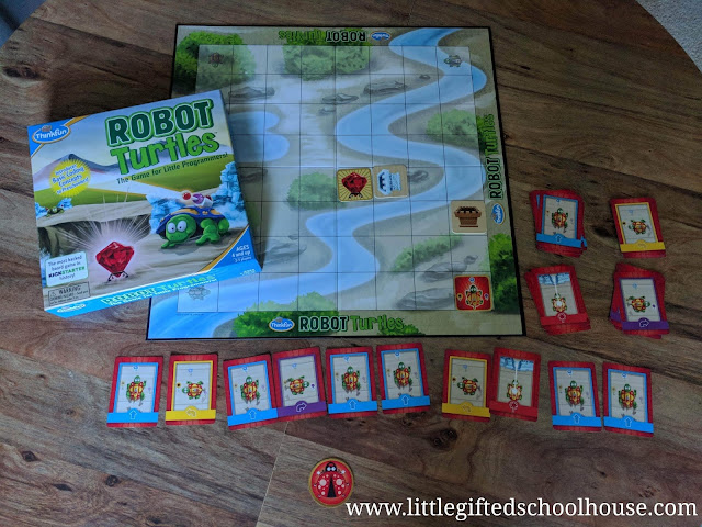 Robot Turtles Coding Game for Kids by Thinkfun
