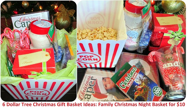 family christmas season basket