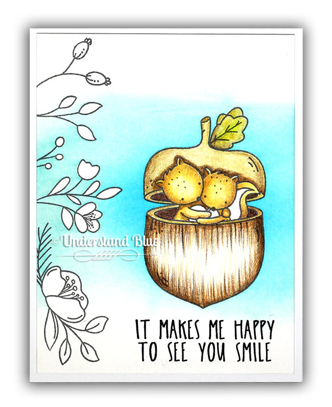 Little Nut Card by Understand Blue