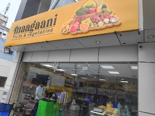 Maagaani Fresh vegitable and fruit shop  westmaredpally secunderabad