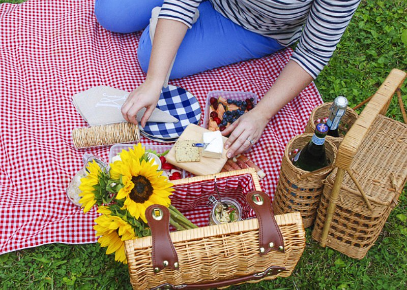 Picnic party ideas via BirdsParty.com @birdsparty