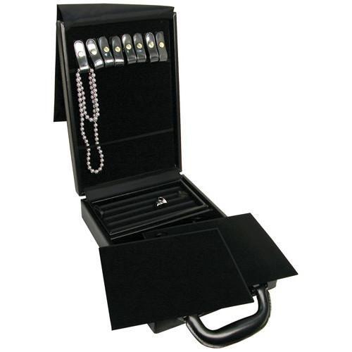 #AC-1L2 Jewelry Organizer Travel Case with Combination Lock