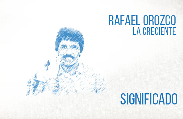 La Creciente significado de la canción Rafael Orozco.