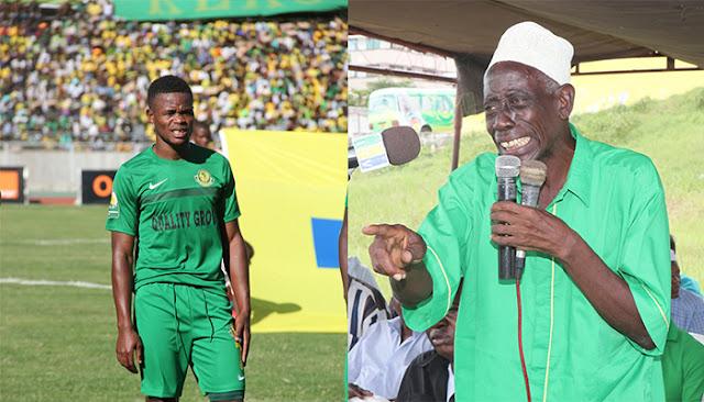 Mzee Akilimali Amtetea Chirwa Baada ya Kukosa Penalti