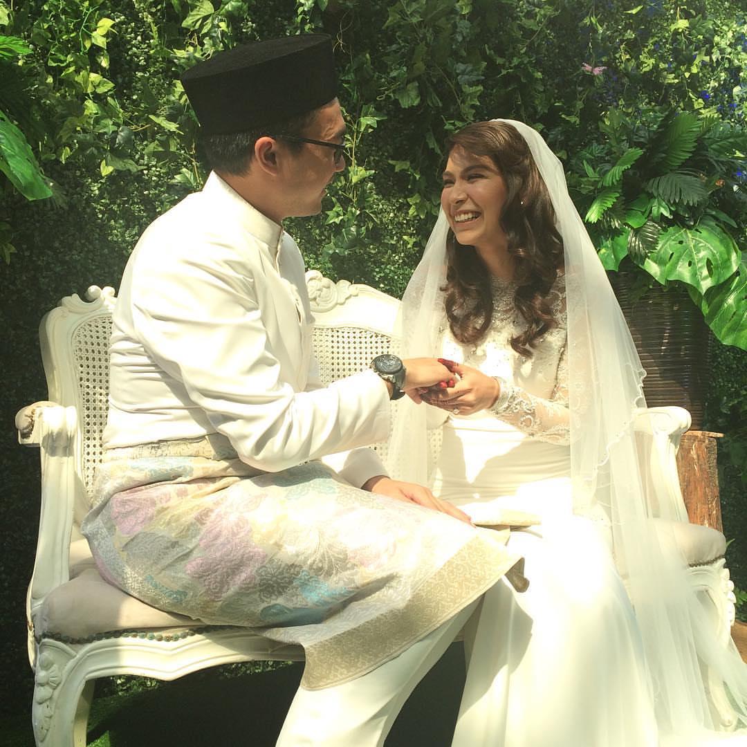dahlia hlive kahwin