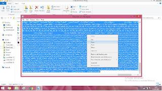 cara melihat html template blog notepad