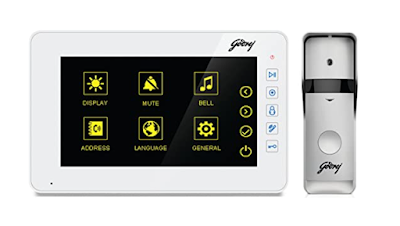 Godrej Security Solutions Solus ST 7 Lite Video Door Phone Kit to Improve Security of Your Home